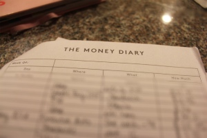 Track all your expenses to keep yourself accountable for your purchases.